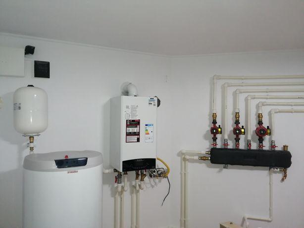 Instalator, centrale termice, bransament gaz, incalzire in pardoseala