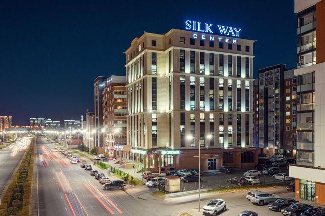 Сдаются в аренду офисные помещения в БЦ Silk Way от 25 кв.м.