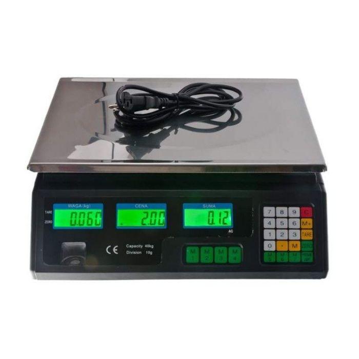 Cantar Platforma Electronic cu acumulator 40 kg cod471