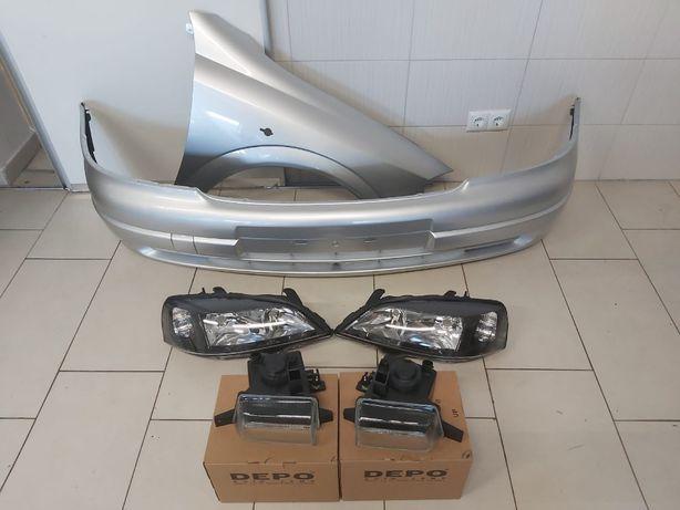 Pachet Bara+Far+Proiector+Aripa Fata Dreapta Opel Astra G 98-04 Z157