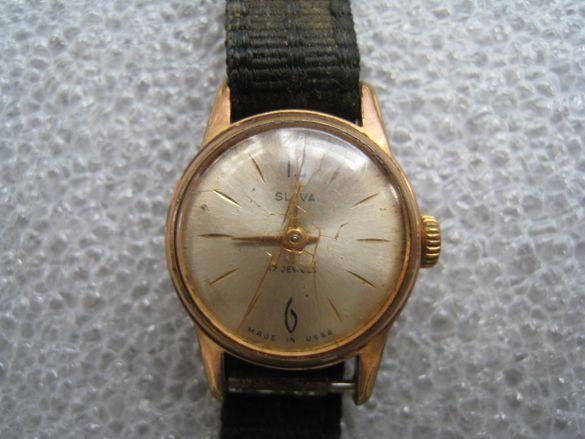 Рядък дамски механичен руски часовник слава СССР