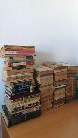 Colectie carti vechi 85: literatura, fizica, matematica manuale altele