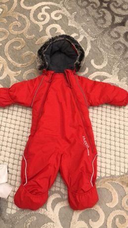 Продам новый теплый детский комбинезон