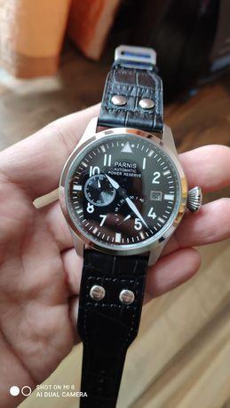 Мъжки автоматичен пилотски часовник Parnis hommage на IWC, seiko 47mm