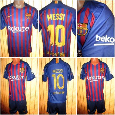 Nike 2019 - Мъжки тениски Барселона(Меси)/ПСЖ (Неймар) - 100% качество