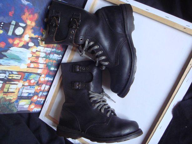 Лучшие Ботинки из воловьей Натуральной Кожи США типа берцы 38р