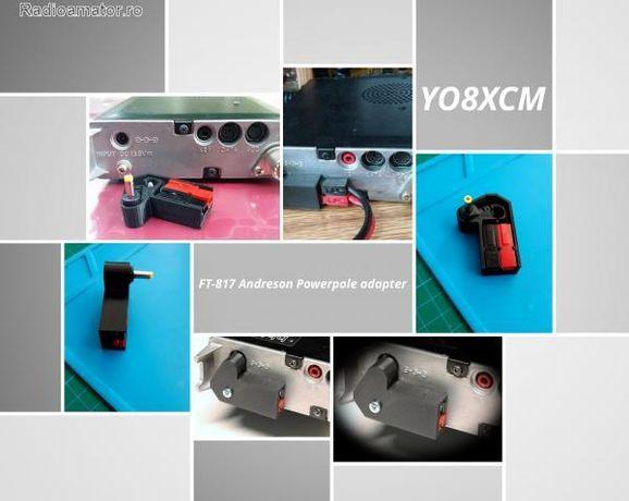 Adaptor alimentare FT-817 Yaesu power pole jack