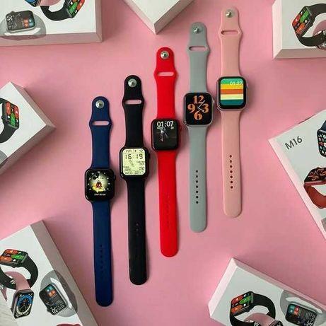 Смарт Часы М16plus+ремешок в ПОДАРОК. Apple Watch.