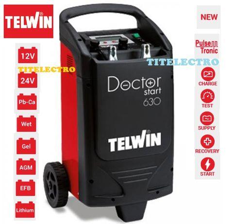 DOCTOR START 630 - Robot pornire si redresor auto electronic TELWIN