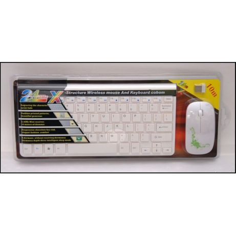 Kit Tastatura Si Mouse Wireless Slim