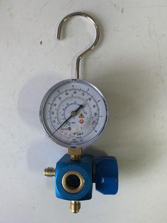 Baterie manometru cu vizor pentru gaz freon r600 r290 nou