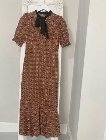 Rochie culoare de toamna
