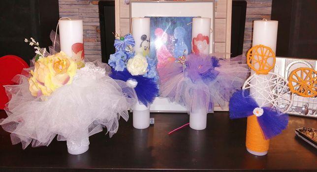 Lumânări botez personalizate