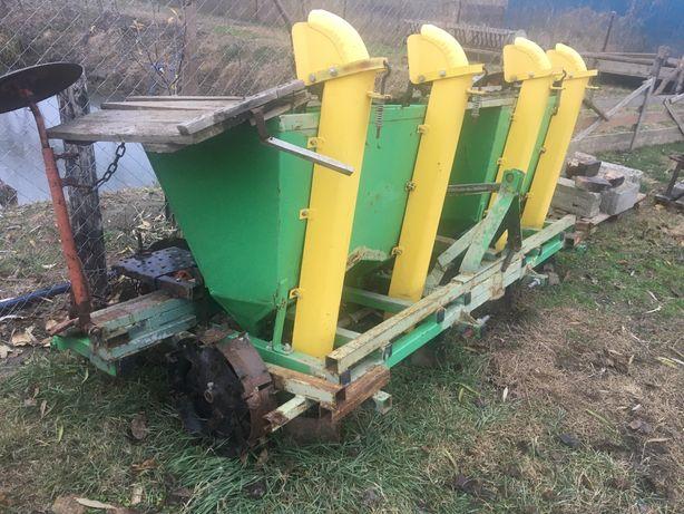 Masina de plantat cartofi BOMET cu fertilizare