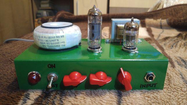 Amplificator chitara lampi (tuburi electronice)