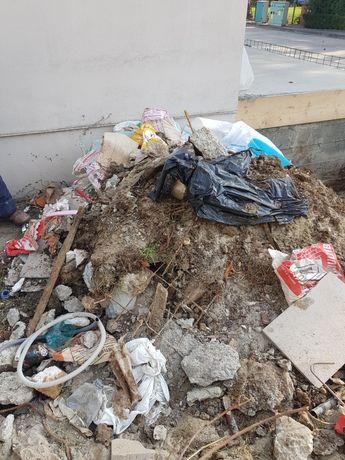 Evacuarea  gunoi molozul demolari