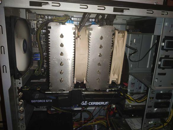 Конфигурация - Дъно, Рам 56gb, Процесор, Охладител, workstation