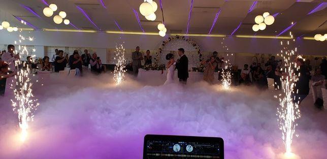 Gheata carbonica dansul mirilor/Fum greu/dj/sonorizare/nunta/botez