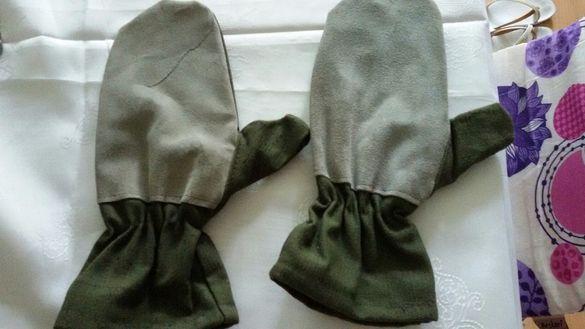 Работни брезентови ръкавици