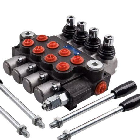 Distribuitor hidraulic 4 comenzi dublu efect