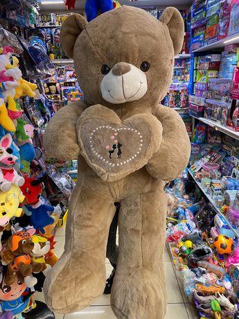 Urs de plus maro cu inima