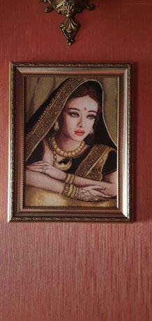 Гоблен Индийска Девойка