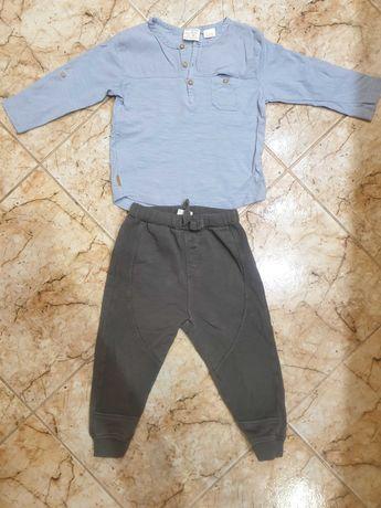 Зара 18-24 блузка и долнище комплект
