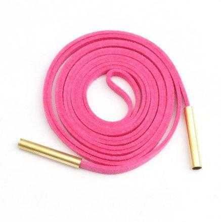Длинный розовый чокер-шнурок
