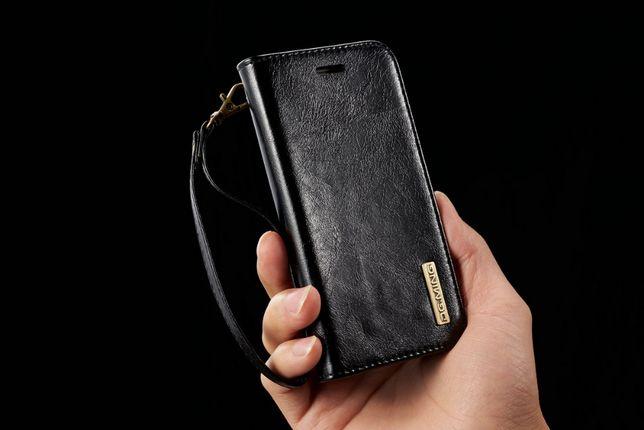 Husa piele Samsung S8 Plus, 2in1 curelusa mana, magnetica, CaseMe