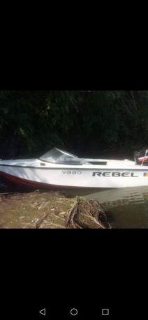 Vand barca Rebel+motor+peridoc