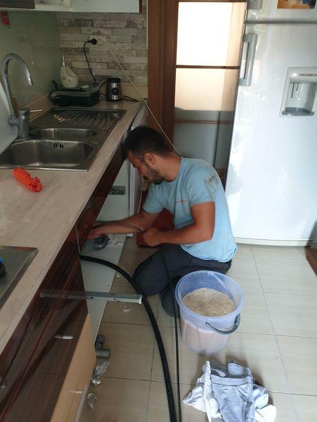 Desfundare canalizare sarpe electric