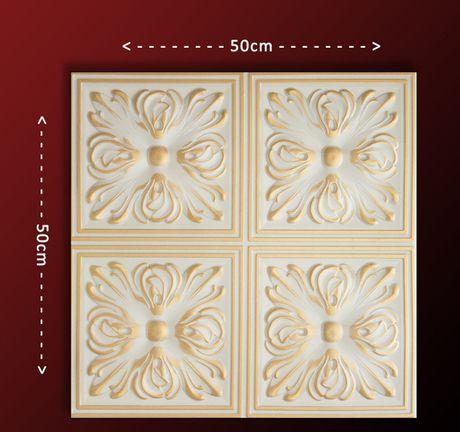 Panouri decorative 3D din polistiren si din trestie de zahar/ 3mp/p.