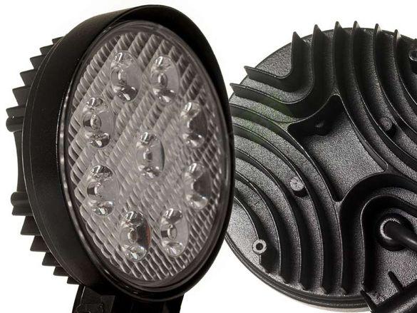 LED диоден халоген 27W LED IP67 9 LED
