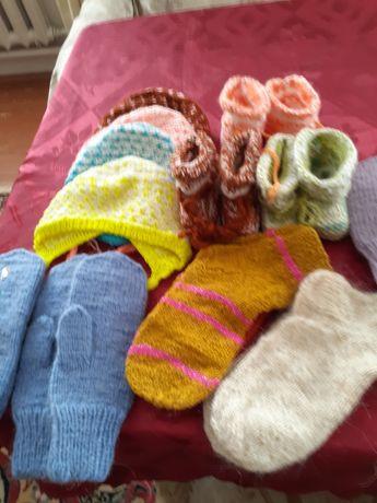 Носки,пинетки, теплые