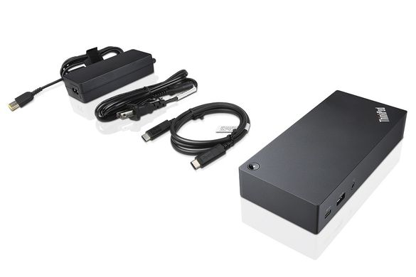 Докинг станция Lenovo ThinkPad USB-C (Type-C) Dock 40A9 + Гаранция