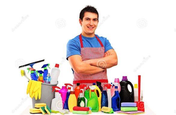 Почистване след строеж, саниране или строителен ремонт