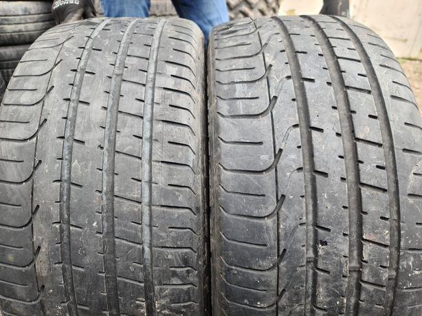 255 35 20 Pirelli 2015 cu 5 mm 2 anvelope vara