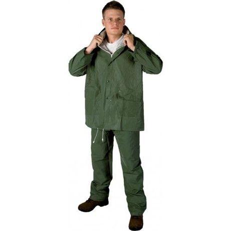 Costum Ploaie impermeabil verde