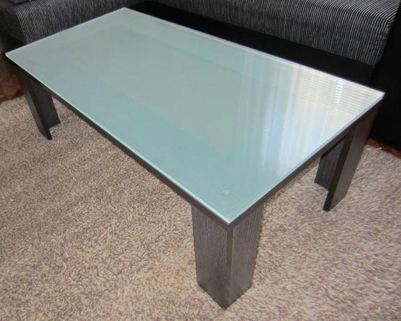 Холна маса с масивно стъкло
