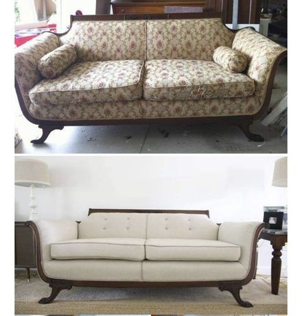 Перетяжка Реставрация Мягкой мебели