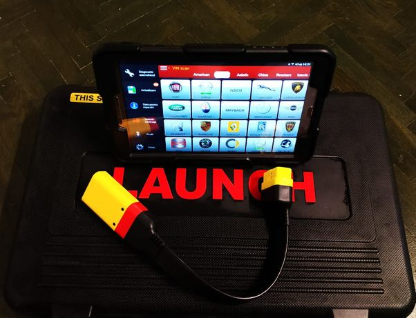 Kit Tester Auto Launch x431 Tableta 10' + Cutie Adaptori Originali !