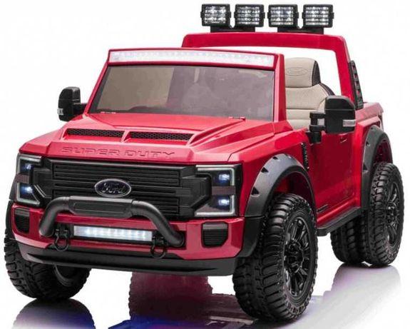 Masinuta electrica pentru copii Ford Super Duty XXL 4x4 (2088) Rosu