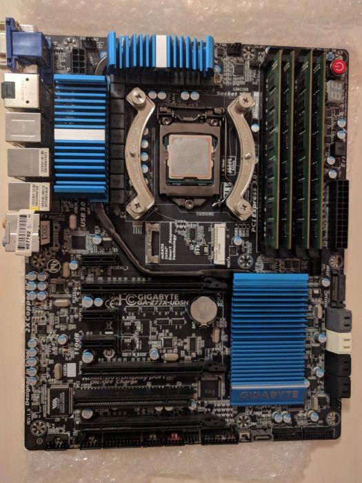 Sistem Gigabyte GA-Z77X-UD5H, Intel 2700k, SSHD 2TB, Noctua NH-U14S Cluj-Napoca - imagine 1