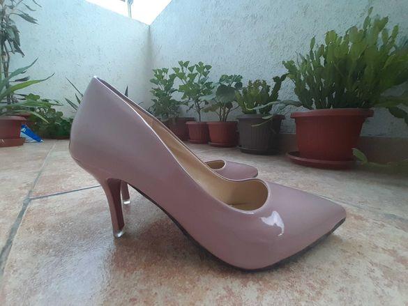 НОВИ Официални дамски обувки на токчета стилето