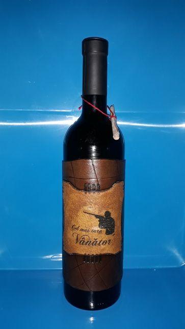 Sticla personalizata pentru vanatori