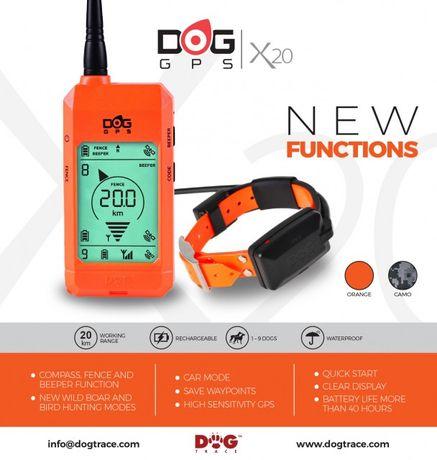 Vand Dogtrace x20 dispozitiv gps pentru urmarira cainelor vanatoare