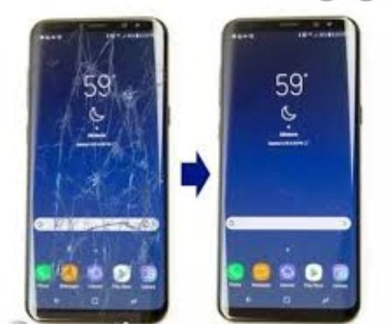 Дисплей-стекло с заменой.Самсунг:S20/S10/S9/S8/S7/S6/Note/A30/A50/A51