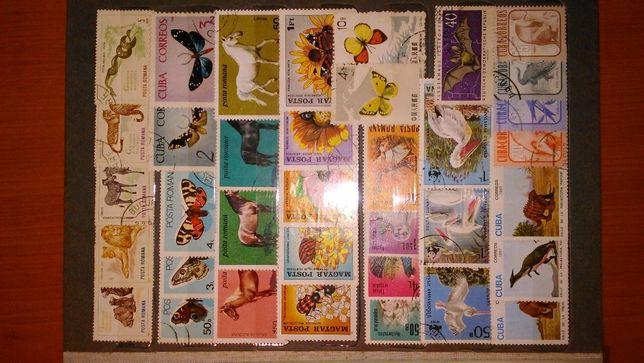 colectie de timbre