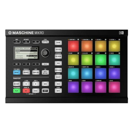Maschine mikro mk 2 для Битмейкеров и студий звукозаписи