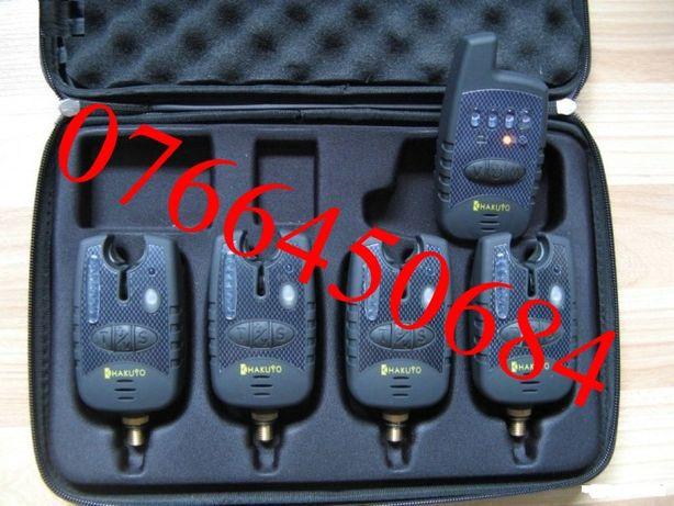 Trusa Set 4 Avertizori Cu Statie Hakuyo Model 2013 Antifurt 4 Culori